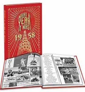 1958 What A Year It Was! Yearbook