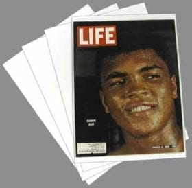 LIFE Magazine Backing Board