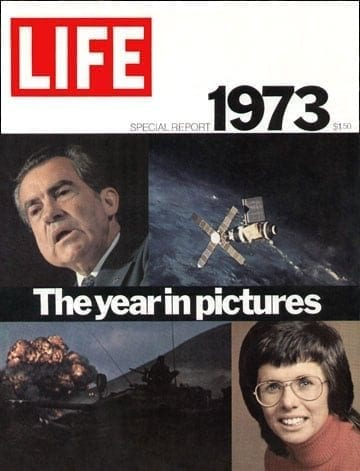 LIFE Magazine Year in Pictures 1973