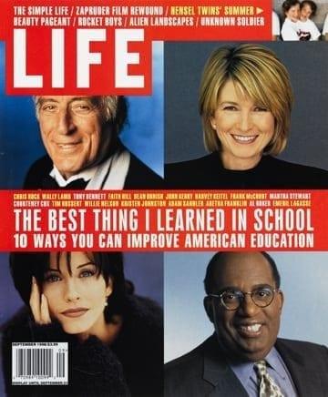 LIFE Magazine September 1998