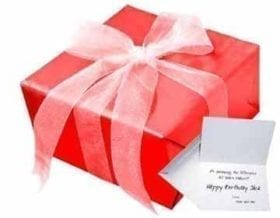 Gift Wrap & Card Options